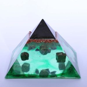 Crystal Capped Pyramids